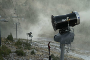 Sugar Bowl ski resort begins snowmaking