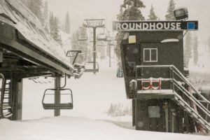 Snow pounds Lake Tahoe ski resorts
