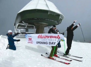 Five Lake Tahoe ski resorts open