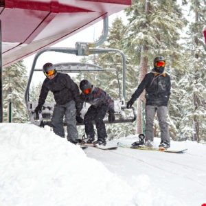 Lake Tahoe ski resorts receive Thanksgiving snow