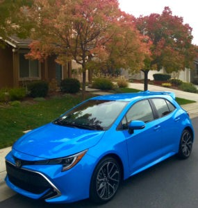 2019 Toyota Corolla hatchback a hit