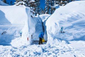 Incredible 2017 Tahoe snow totals