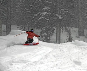 Three Tahoe ski resorts receive 4 feet of snow