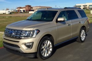 Complete redesign for 2018 Ford Expedition
