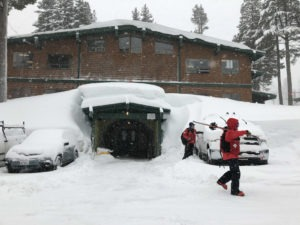 Storms could drop 8 feet snow on Tahoe ski resorts