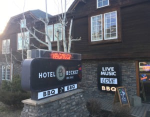 Hotel Becket offers convenient lodging in South Lake Tahoe