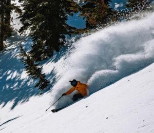 Mammoth ski resort has most snow in North America