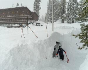 Sugar Bowl sets snowfall record