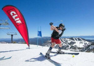 Alpine Meadows Snow Golf Tournament on April 20