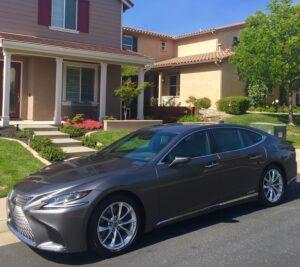 2019 Lexus LS 500 still stylish sedan