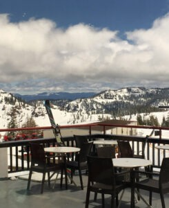 Squaw Valley has excellent spring snow conditions
