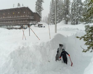 Tahoe ski resorts enjoy huge skier turnout