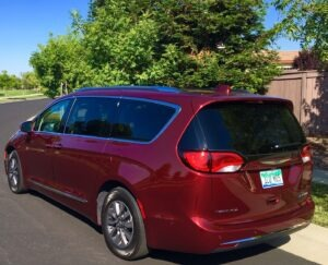 Chrysler Pacifica Hybrid a solid minivan