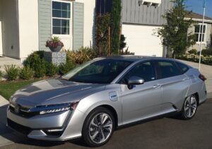 Lots of green with 2019 Honda Clarity