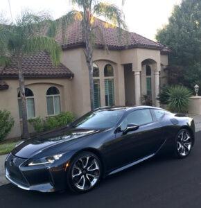 Lexus LC 500 luxury coup a stunner