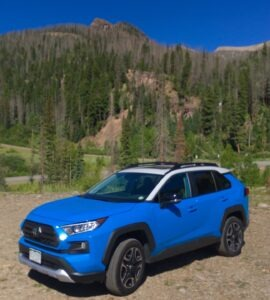 Toyota RAV4 tames the Rockies