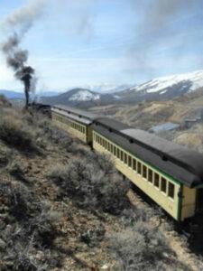 Historic Virginia & Truckee railroad keeps rolling along