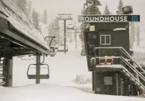 Squaw Valley Alpine Meadows has snow totals of 43 inches this season.