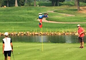 The Bailey Creek greens can be tricky for first-time golfers due to the subtle breaks.