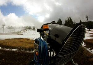Thanks to its snowmaking capability, for many years Boreal was the first Tahoe ski resort to open for the season,