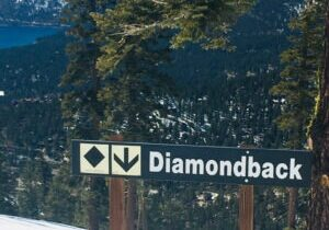 Diamond Peak still has good snow coverage, a major factor in extending its season to April 18.