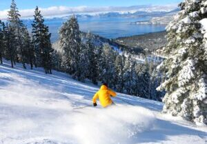 Following a sizable snow Monday, Diamond Peak and other Tahoe ski resorts are anticipating a sunny, powder day for skiers and riders.