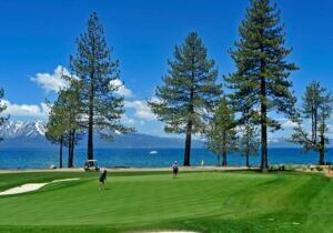 Located on the shores of South Lake Tahoe, Edgewood Tahoe is one of the region's top golf courses, combining gorgeous views with a very playable course.
