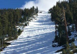 The famed Gunbarrel run at Heavenly will most likely remain empty until next ski season.