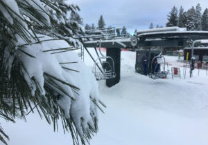 It was a beautiful powder day Monday (Jan. 21) at Heavenly Mountain ski resort in Lake Tahoe, thanks to 18 inches of fresh powder.