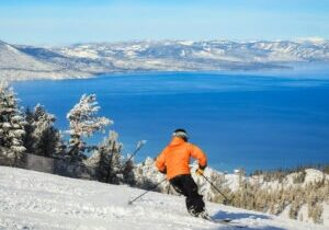 Located in South Lake Tahoe, Heavenly Mountain is one of the three Vail Resorts in Tahoe.
