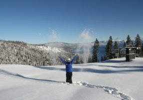 Thanks to three consecutive days of snow, Friday (Jan. 18) was a powder day for Tahoe ski resorts like Homewood Mountain.