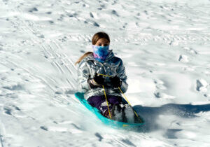 Sledding and tubing has been added this season at Homewood Mountain ski resort in Lake Tahoe.