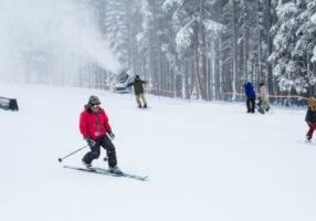 Mt. Rose ski resort near Lake Tahoe is now open for weekend (Friday thru Sunday) skiing and riding. The resort won't begin daily operations until more terrain can be opened as weather and conditions permit.