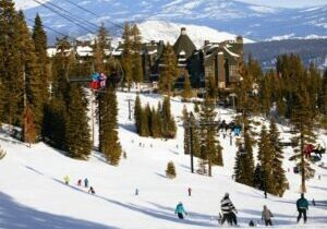 The gorgeous Ritz-Carlton, located mid-mountain at Northstar ski resort, still has rooms available for Nonessential travel by Californians.
