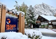 Formerly Squaw Valley Alpine Meadows, Palisades Tahoe received 4 inches of snow by Monday morning.