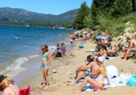 Following its evacuation around two weeks ago, South Lake Tahoe is opening businesses this week and hoping to get back to relative normal.