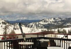 Every weekend through Memorial Day, the new Gold Coast Beach Bar at Squaw Valley's upper mountain will be the place to kick back with a cold drink on the snow beach.