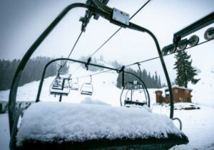 Squaw Valley Alpine Meadows benefitting greatly from Tuesday's storm, reporting 16 inches of new snow.