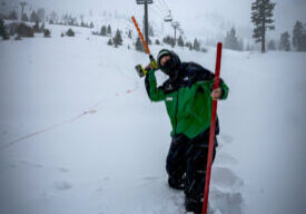 Squaw Valley has the most snow of any Tahoe ski resort with 233 inches.