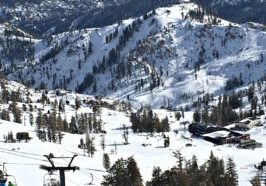 Two magic carpets and the First Venture chairlift will be spinning at the Squaw Valley SnoVentures Activity Zone, where skiers and snowboarders can access beginner terrain.