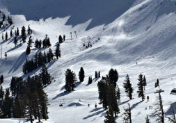 Squaw Valley is a scenic ski resort in Lake Tahoe that typically stays open later than its local rivals. Last year's closing came on Memorial Day.