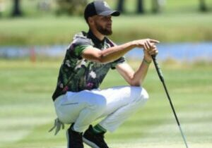 Golden State Warriors standout Stephen Curry is among the field of celebrity golfers at this year's American Century Championship in Tahoe.