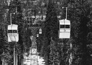 The Sugar Bowl the gondola was the first aerial tramway on the West Coast and only the second of its kind to be used at a North American ski resort.
