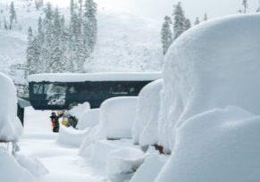 Sugar Bowl - heavy snow 10.25.21