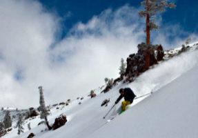 Sugar Bowl ski resort in Lake Tahoe opened Friday for the 2018-19 season.