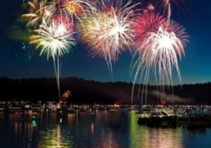 There will be no formal fireworks show this Fourth of July weekend in Lake Tahoe, where visitors are also encouraged not to do there owns fireworks.
