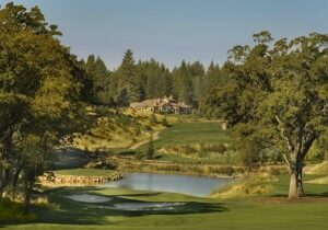 The championship golf course is one of seven in the world designed by the renowned father-son team of Robert Trent Jones, Sr., and Jr. The 7,200-yard design has twice been designated one of America's Best Residential Golf Courses by Golfweek Magazine.